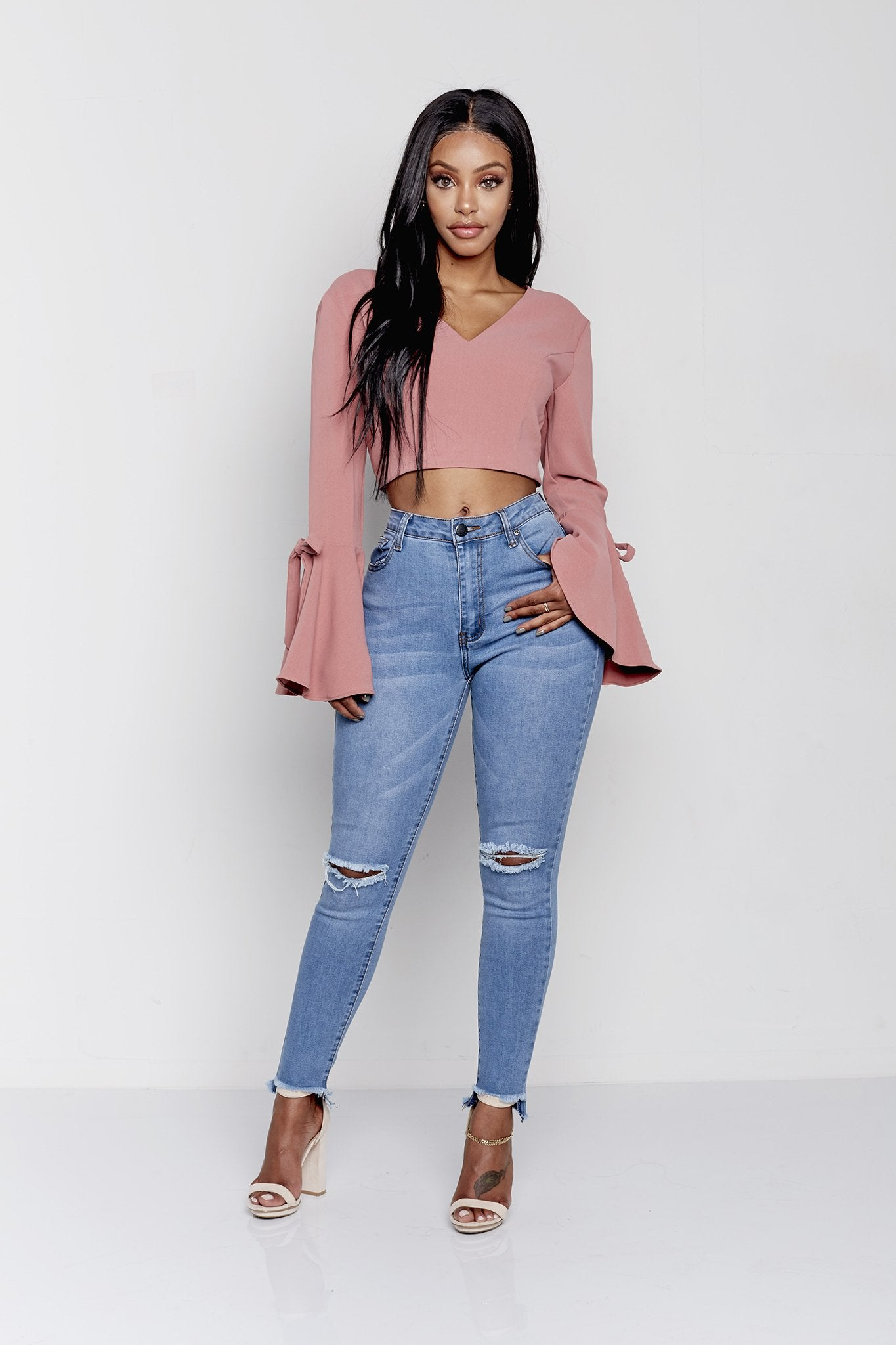LISA TOP | BLUSH