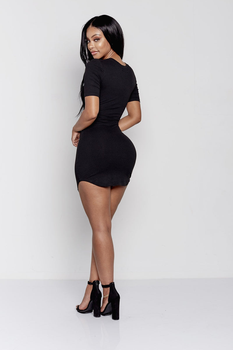 KYLEE DRESS | BLACK