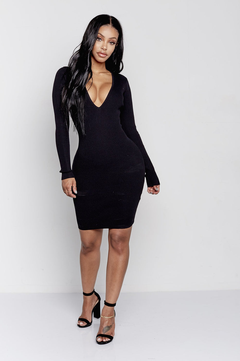 NATALIE DRESS | BLACK