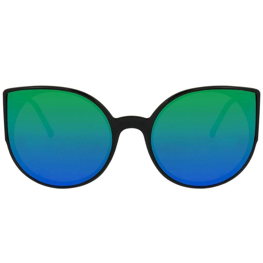 Mykonos Classic Cat Eye Sunglasses, Blue/Green