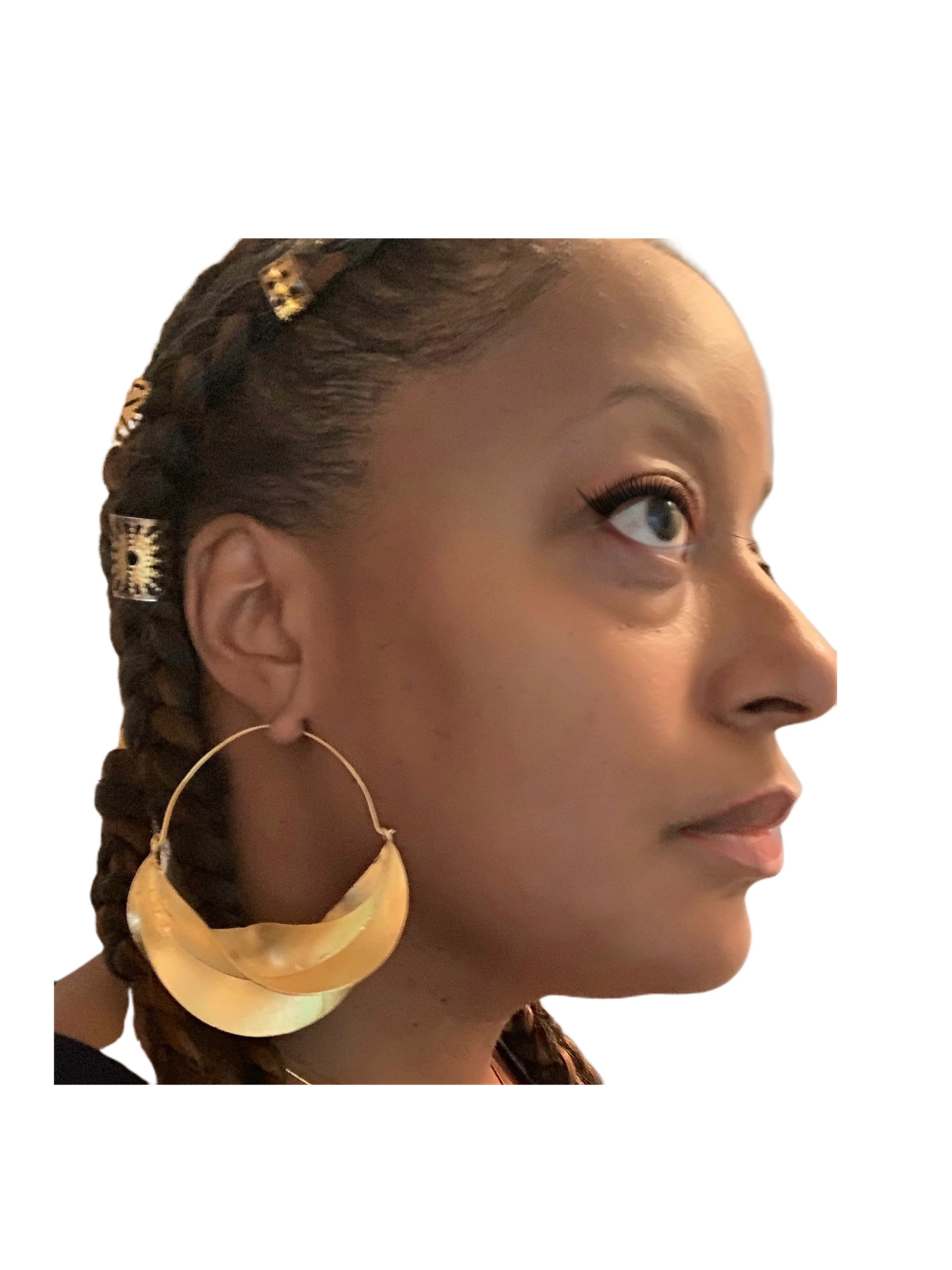 Fab Mavens Version Fulani Style African Hoops