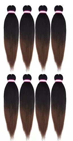Premium Yaki Pre-stretched Kanekalon Hair