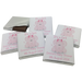 Cute Pink Elephant Personalised Chocolate Baby Shower Favours