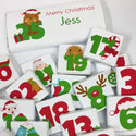 Advent Chocolates & Personalised Bar