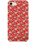 Full Wrap Mobile Phone Case - Christmas Woodland