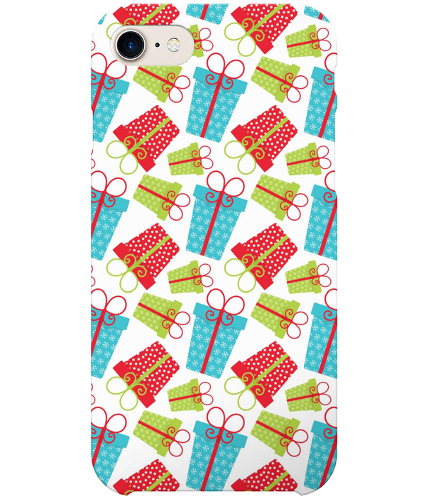 Full Wrap Mobile Phone Case - Christmas Presents