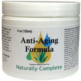 Naturally Complete Anti-Aging Formula 4 oz. Jar | Non-GMO | Soy-Free | Unscented | Gluten-Free | Made in USA - Naturally Complete