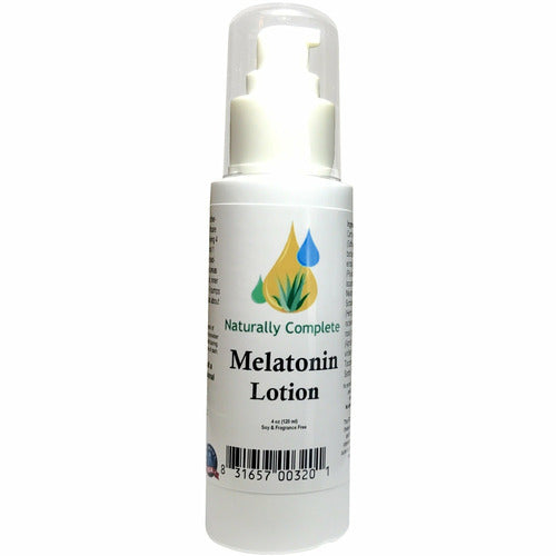 Naturally Complete Melatonin 4 oz. Pump Bottle | Made In The USA - Naturally Complete