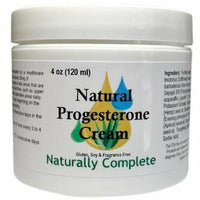 Naturally Complete Progesterone 2%  4 oz. Jar | Non-GMO | Soy-Free | Unscented | Made in USA - Naturally Complete