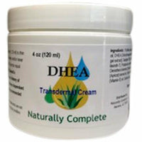 DHEA 4 oz. Jar | Non-GMO | Soy-Free | Unscented | Made in USA - Naturally Complete