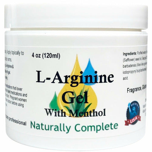 Naturally Complete L-Arginine with Menthol 4 oz. Jar - Naturally Complete