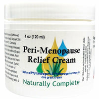 Peri-Menopause Relief Cream 4 oz. Jar - Non-GMO | Made In The USA - Naturally Complete