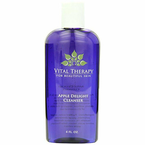 Vital Therapy Apple Delight Cleanser 4 oz. Bottle | Made In The USA - Naturally Complete