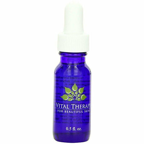 Vital Therapy Vitamin C Caffeine Serum 0.5 oz. Dropper Bottle | Made In The USA - Naturally Complete