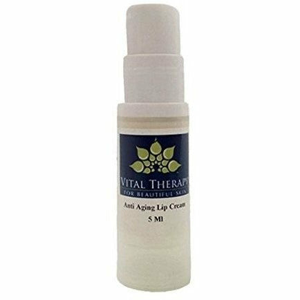 Vital Therapy Restores Moisture to Lips Anti-Aging Lip Cream 0.5 oz. | Made In The USA - Naturally Complete