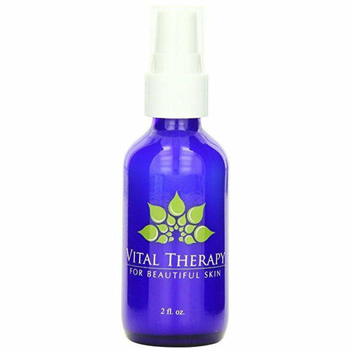 Vital Therapy Vitamin C Caffeine Serum 2 oz. Bottle | Made In The USA - Naturally Complete