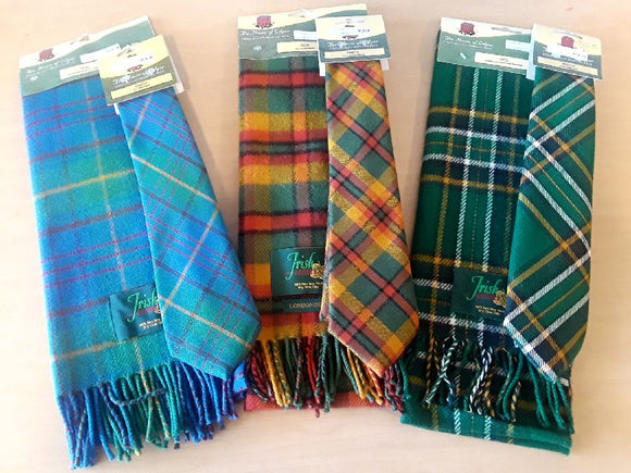Irish Neckties and Scarves