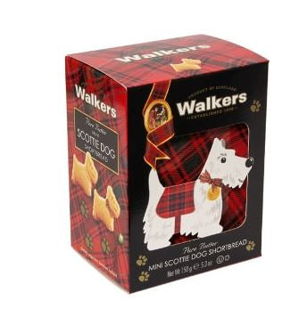 Mini Scottie Dog Shortbread