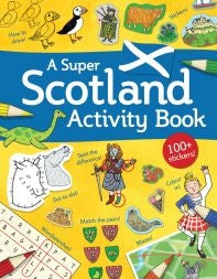 Super Scotland Activity Book for Children