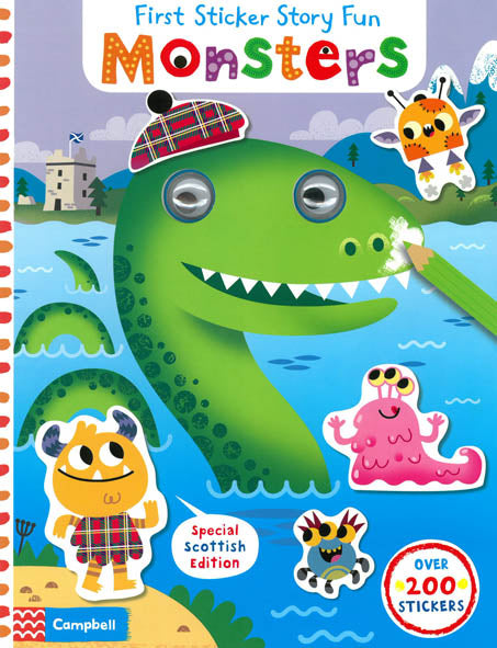 First Sticker Story Fun - Monsters