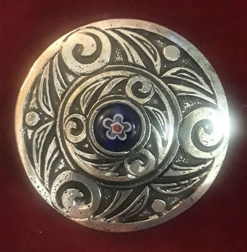 Celtic Wheels Brooch