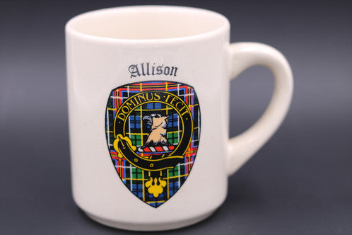 Clan Crest Coffee Mugs (A-Z)