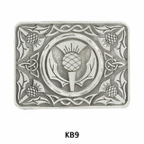 Traditional Pewter Belt Buckles