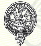 Polished Pewter Crest Badges (A-Mac)