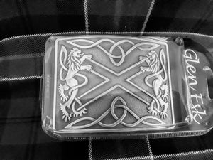 Belt Buckle Antique Silver Finish