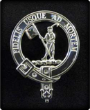 Sterling Silver Clan Crest Badges M-Z