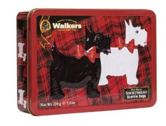 Walkers Scottie Dogs Shortbread Tin