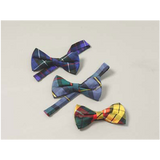 Spring Weight Black Band Bowties (Tartans A - B)