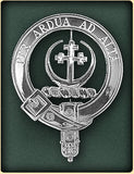 Sterling Silver Clan Crest Badges - Clans A-L