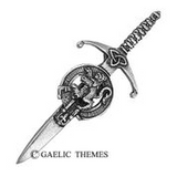 Brushed Pewter Generic (Non-Clan) Kilt Pins