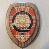 Clan Crest Wall Plaques