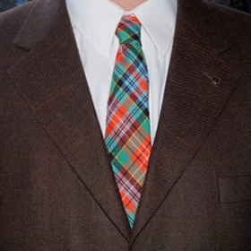 Spring Weight  Neckties (Tartans A-B)