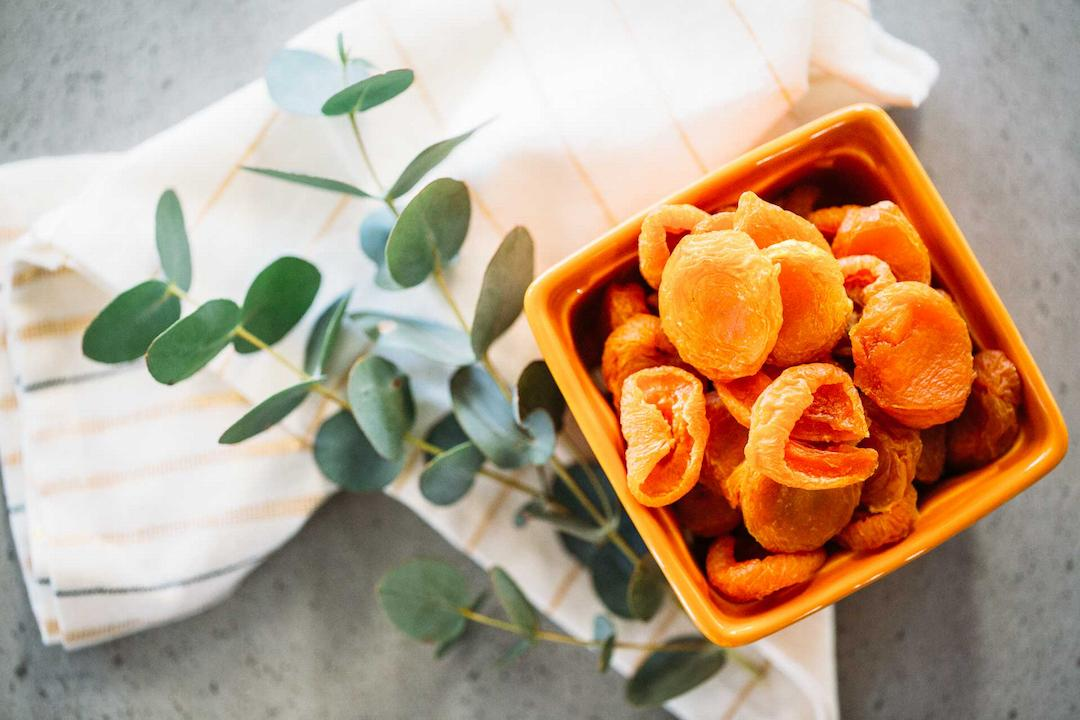 Dried Australian apricots from The Nut Market