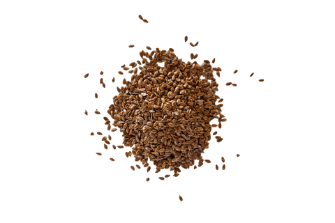 A small pile of Linseeds