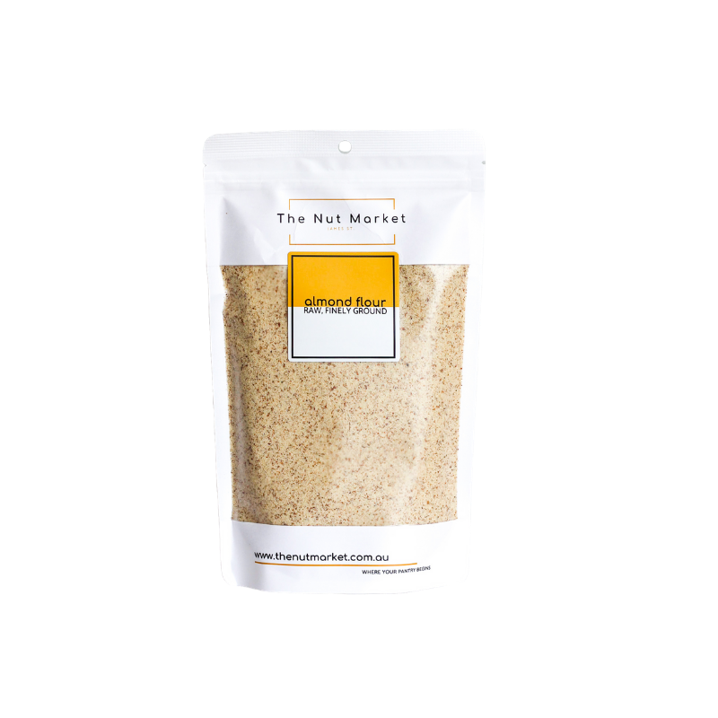 Almond Flour in 400g Nut Market bag.