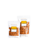 Insecticide Free Almonds in 200g and 500g Nut Market bags.
