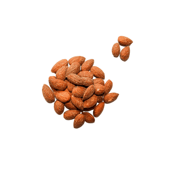 Small cluster of Smoked Almonds.