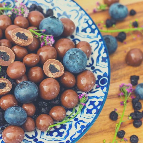 Blueberries Milk Chocolate Coated The Nut Market