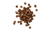 Small scattered pile of Callebaut Milk Chocolate Callets.