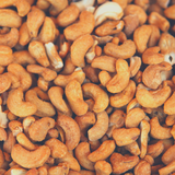 Close up of bulk Cashews Roasted and Salted.