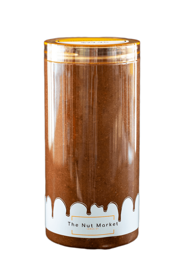 Large 850g Nut Market Jar of Chocolate Almond Butter.