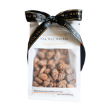 Cinnamon Almonds in 200g Nut Market Gift Bag.