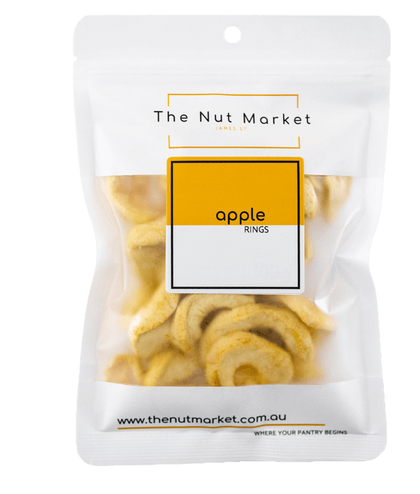 Dried Apple in 80g Nut Market Bag.