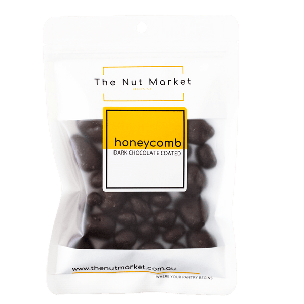 Honeycomb Dark Chocolate Coated