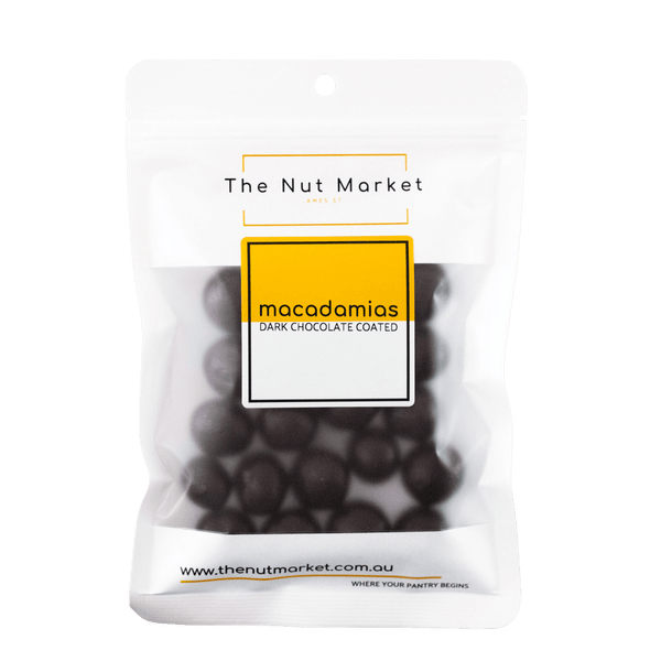 Macadamias Dark Chocolate Coated