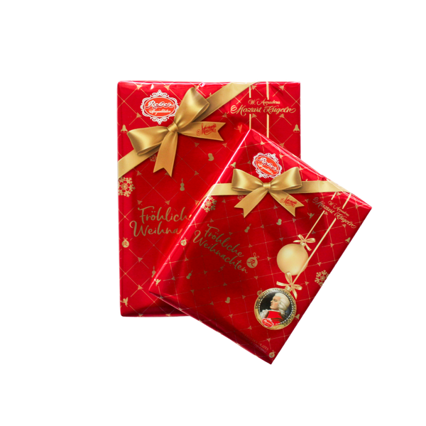 Christmas Gift Boxes of Mozart Kugeln.